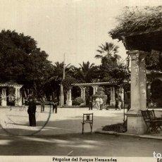 Cómics: FOTOPOSTAL MELILLA PERGOLAS DEL PARQUE HERNANDES. Lote 182713231