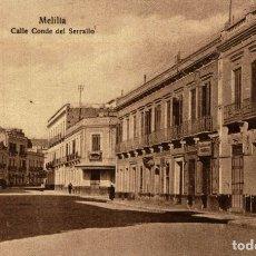 Cómics: MELILLA. CALLE CONDE DEL SERALLO. Lote 182713897
