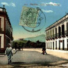 Cómics: MELILLA CALLE GENERAL PAREJA. Lote 182714772