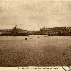 Cómics: MELILLA UNA VISTA DESDE EL PUERTO. Lote 182714838