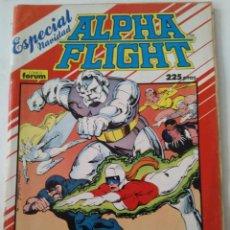 Cómics: COMIC ALPHA FLIGHT ESPECIAL NAVIDAD FORUM. Lote 182741150