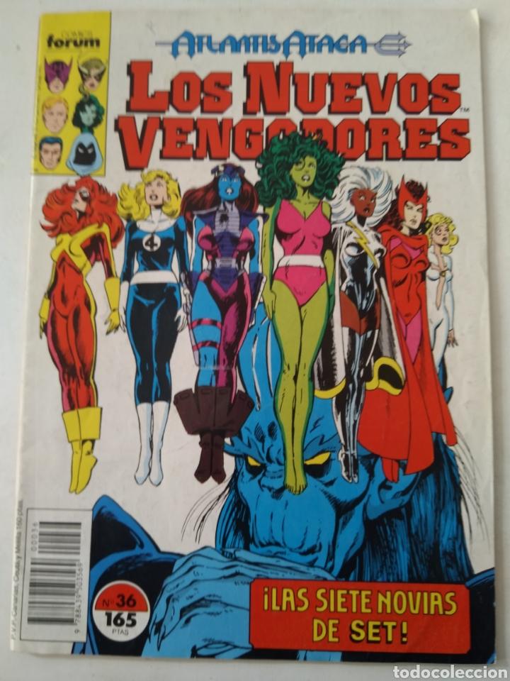 LOS NUEVOS VENGADORES N°36 FORUM (Tebeos y Comics - Forum - Otros Forum)