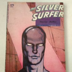 Cómics: COMIC THE SILVER SURFER STAN LEE MOEBIUS TOMO EPIC FORUM. Lote 182765946