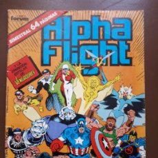 Cómics: ALPHA FLIGHT Nº37. Lote 140594746