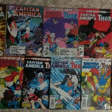 Cómics: CAPITAN AMERICA VOL 1 6 GRAPAS 3 RETAPADOS. Lote 182797728