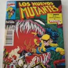 Cómics: COMIC LOS NUEVOS MUTANTES RETAPADO FORUM. Lote 182853012