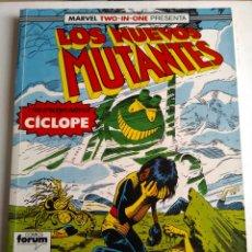 Cómics: COMIC LOS NUEVOS MUTANTES RETAPADO FORUM. Lote 182856948