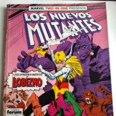 Cómics: COMIC LOS NUEVOS MUTANTES RETAPADO FORUM. Lote 182857025