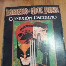 Cómics: COMIC MARVEL LOBEZNO /NICK FURIA. Lote 182858528