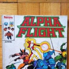 Cómics: ALPHA FLIGHT 33, 34, 35, 36 Y 37 (RETAPADO). Lote 182890372