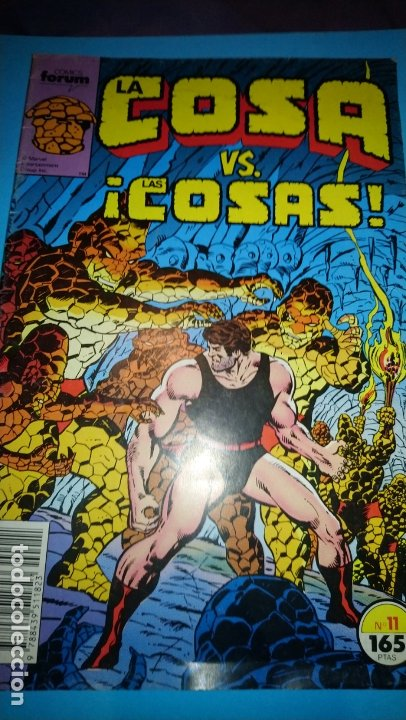 LA COSA VS LAS COSAS, Nº 11 - COMICS FORUM (Tebeos y Comics - Forum - Hulk)