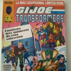 Comics: COMIC GIJOE Y LOS TRANSFORMERS RETAPADO FORUM. Lote 182980076