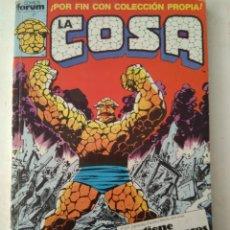 Cómics: COMIC LA COSA RETAPADO FORUM. Lote 182983680