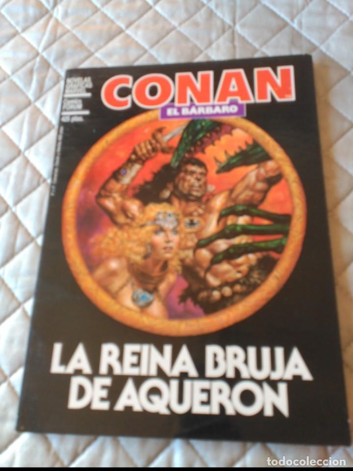 CONAN NOVELA GRÁFICA CONAN LA REINA DE AQUERON FORUM (Tebeos y Comics - Forum - Prestiges y Tomos)