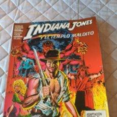 Cómics: INDIANA JONES NOVELA GRÁFICA INDIANA JONES Y EL TEMPLO MALDITO. Lote 182990906