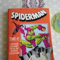 Cómics: TOMO FORUM 41 SPIDERMAN, NÚMERO 281 AL 285. Lote 183001956
