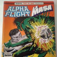 Cómics: COMIC ALPHA FLIGHT RETAPADO FORUM. Lote 183022612