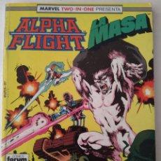 Cómics: COMIC ALPHA FLIGHT RETAPADO FORUM. Lote 183028502