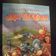 Cómics: JAM SESSION - FANHUNTER CLASSICS - CELS PIÑOL FORUM 1999 PERFECTO. Lote 183061856