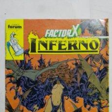 Cómics: FACTOR X - INFERNO, Nº 18, COMICS FORUM. Lote 183166897