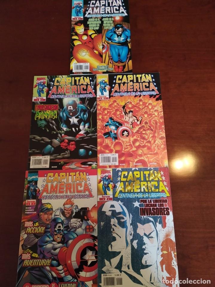 CAPITÁN AMÉRICA CENTINELA DE LA LIBERTAD NºS 1 2 3 4 Y 5 (Tebeos y Comics - Forum - Capitán América)