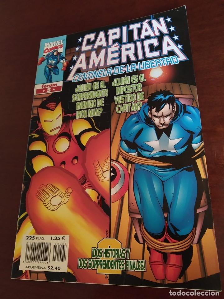 Cómics: Capitán América Centinela de la Libertad nºs 1 2 3 4 y 5 - Foto 4 - 183173536