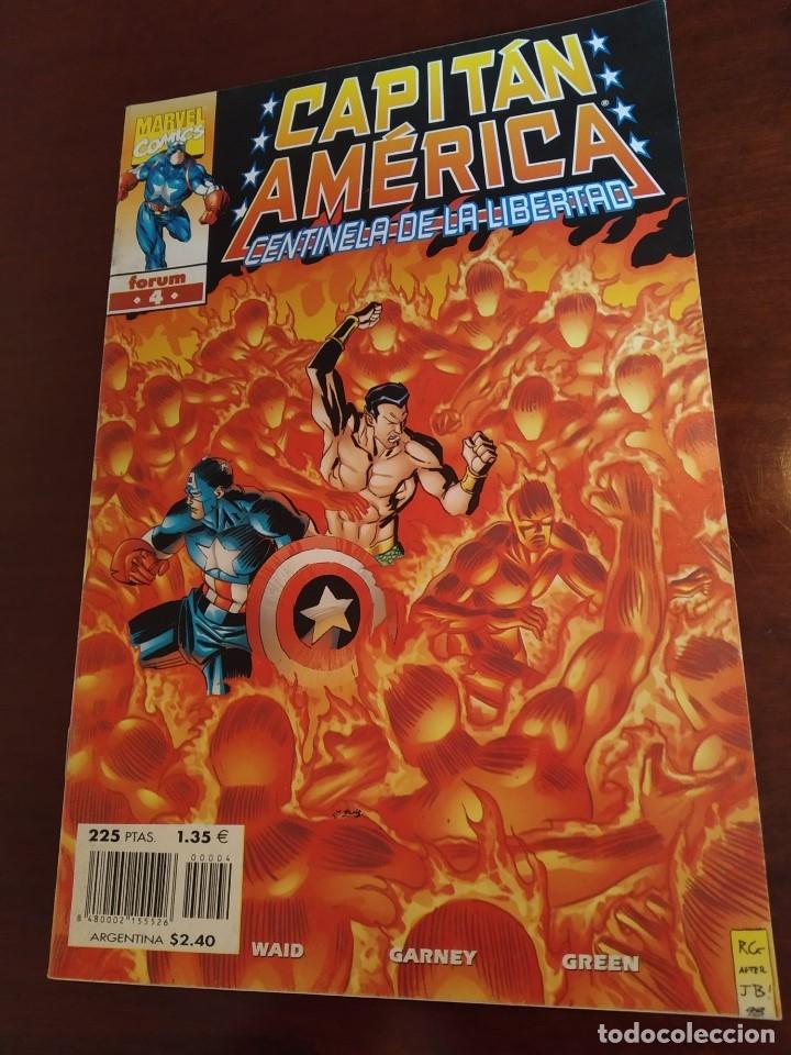 Cómics: Capitán América Centinela de la Libertad nºs 1 2 3 4 y 5 - Foto 5 - 183173536