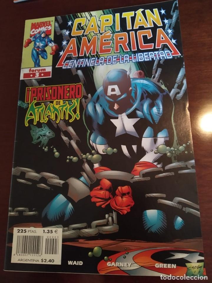 Cómics: Capitán América Centinela de la Libertad nºs 1 2 3 4 y 5 - Foto 6 - 183173536