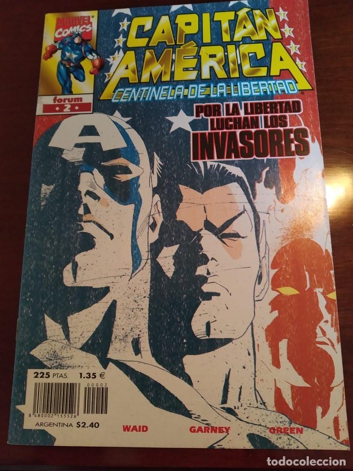 Cómics: Capitán América Centinela de la Libertad nºs 1 2 3 4 y 5 - Foto 7 - 183173536