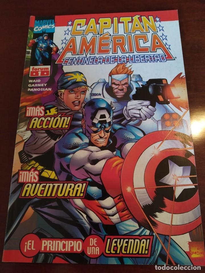 Cómics: Capitán América Centinela de la Libertad nºs 1 2 3 4 y 5 - Foto 8 - 183173536