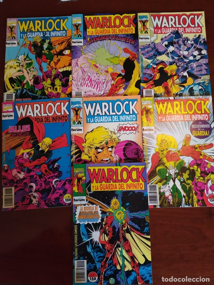 WARLOCK Y LA GUARDIA DEL INFINITO NºS 1 2 3 4 5 6 7 (Tebeos y Comics - Forum - Silver Surfer)