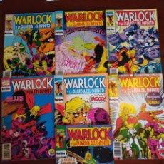 Cómics: WARLOCK Y LA GUARDIA DEL INFINITO NºS 1 2 3 4 5 6 7. Lote 183174095