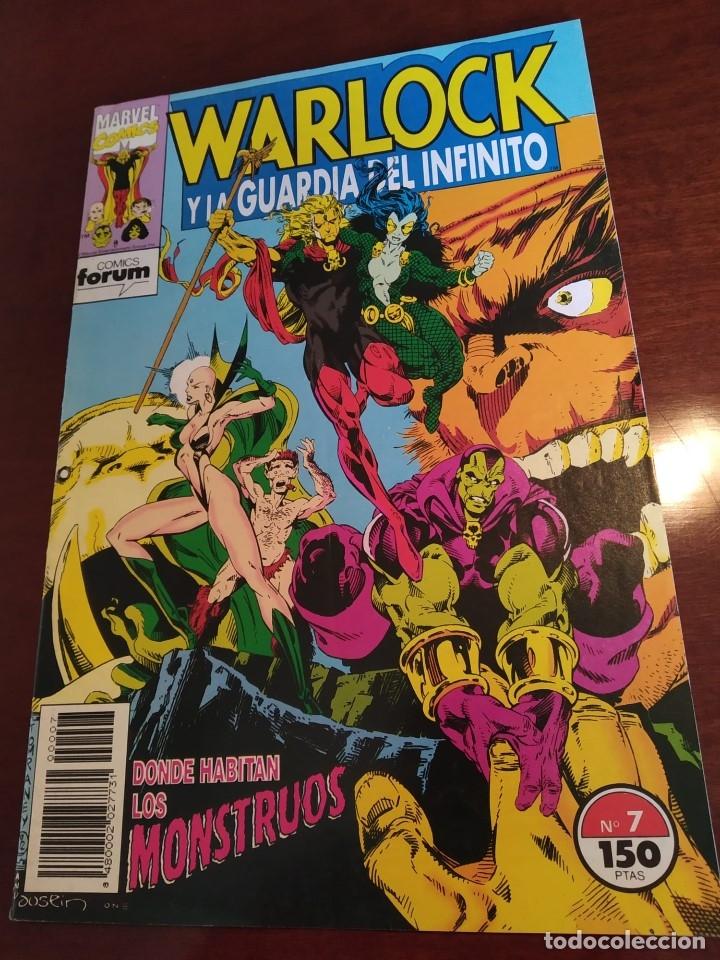 Cómics: Warlock y la Guardia del Infinito nºs 1 2 3 4 5 6 7 - Foto 5 - 183174095