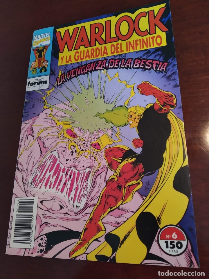 Cómics: Warlock y la Guardia del Infinito nºs 1 2 3 4 5 6 7 - Foto 6 - 183174095