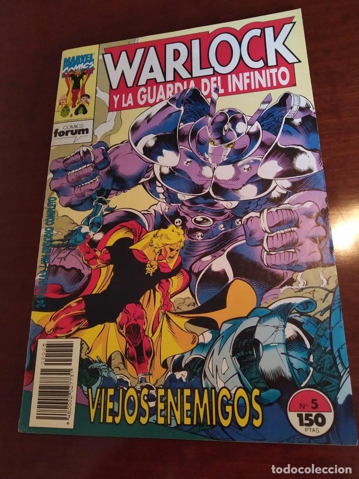 Cómics: Warlock y la Guardia del Infinito nºs 1 2 3 4 5 6 7 - Foto 7 - 183174095