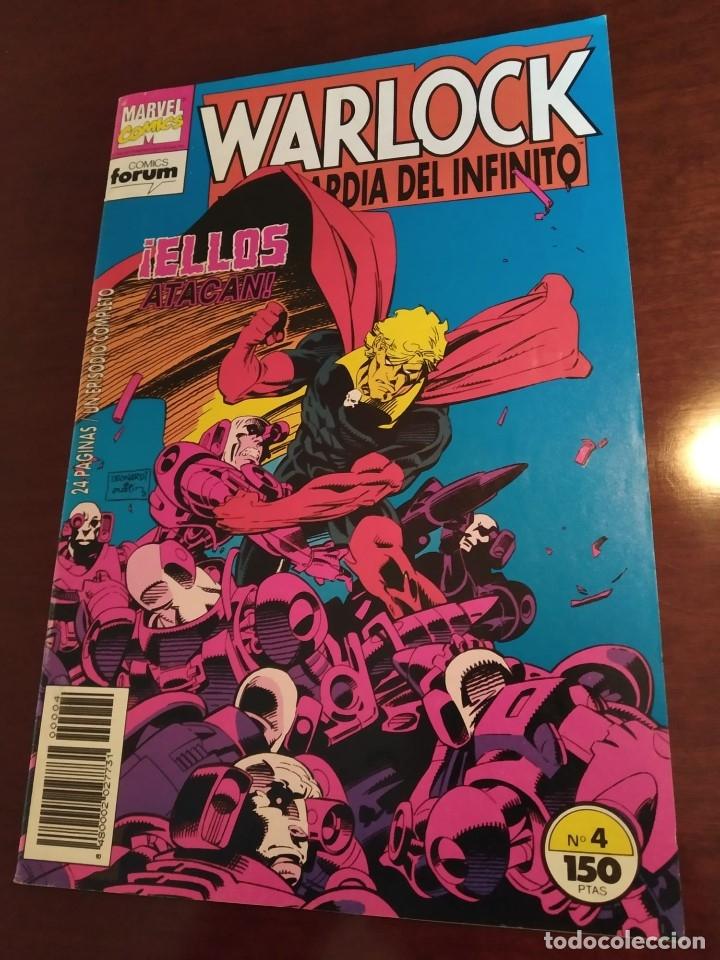 Cómics: Warlock y la Guardia del Infinito nºs 1 2 3 4 5 6 7 - Foto 8 - 183174095
