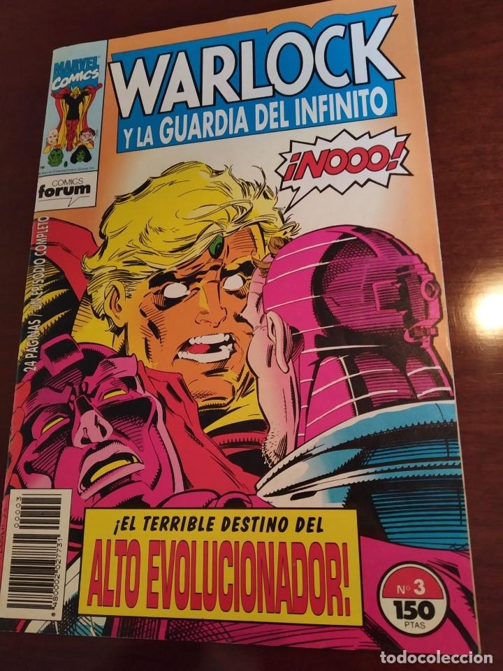 Cómics: Warlock y la Guardia del Infinito nºs 1 2 3 4 5 6 7 - Foto 9 - 183174095