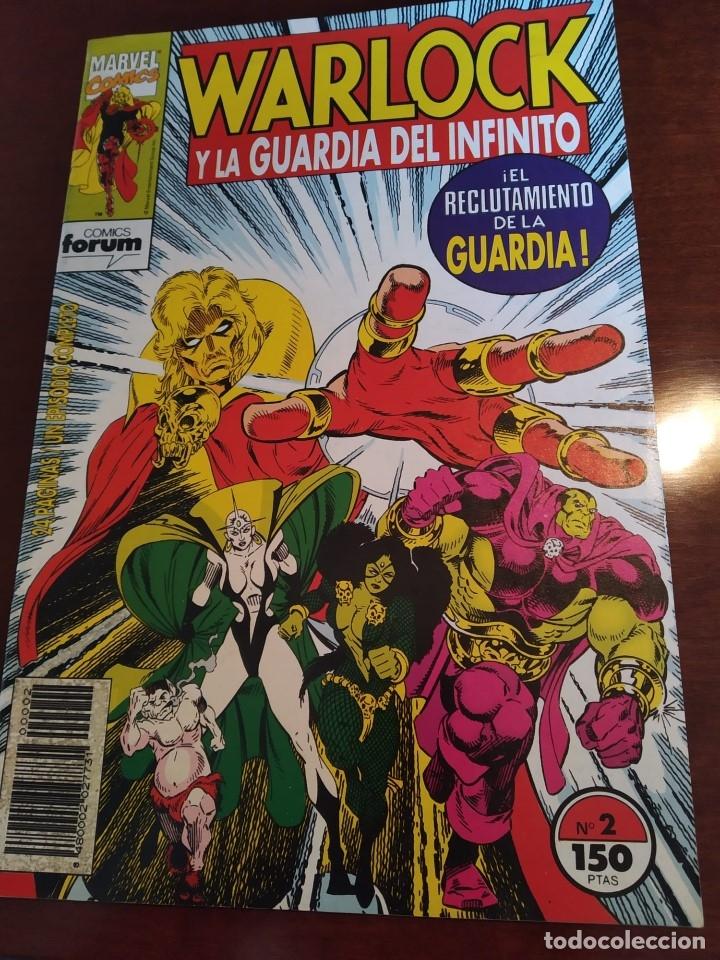 Cómics: Warlock y la Guardia del Infinito nºs 1 2 3 4 5 6 7 - Foto 10 - 183174095