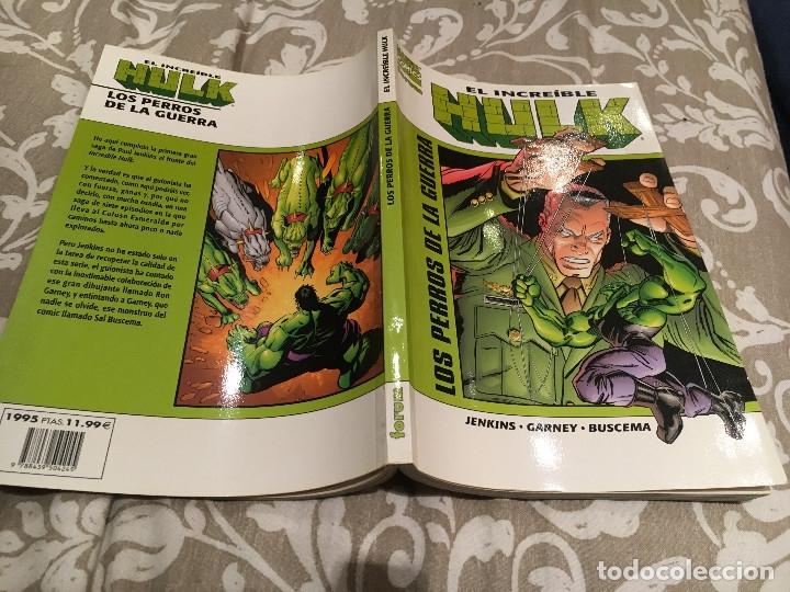EL INCREIBLE HULK : LOS PERROS DE LA GUERRA DE PAUL JENKINS, RON GARNEY, SAL BUSCEMA (Tebeos y Comics - Forum - Hulk)