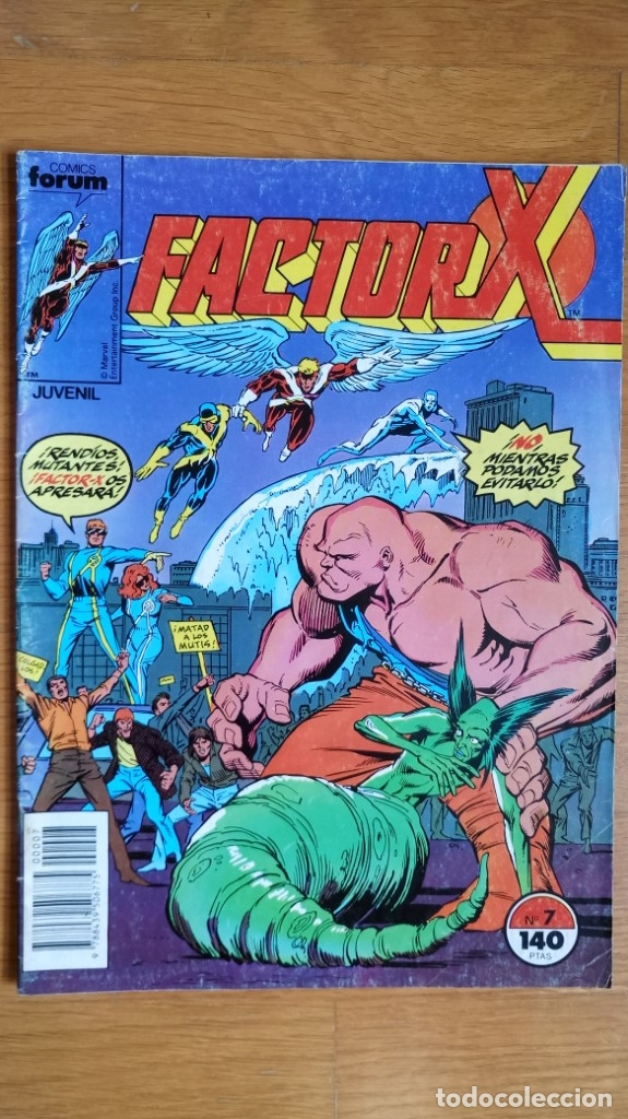 FACTOR X 7 (Tebeos y Comics - Forum - Factor X)