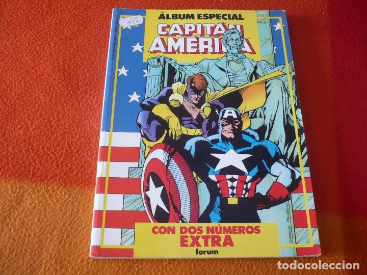 CAPITAN AMERICA ALBUM ESPECIAL CON DOS NUMEROS EXTRA ¡BUEN ESTADO! FORUM MARVEL (Tebeos y Comics - Forum - Capitán América)