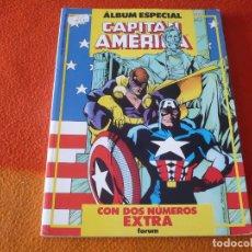 Cómics: CAPITAN AMERICA ALBUM ESPECIAL CON DOS NUMEROS EXTRA ¡BUEN ESTADO! FORUM MARVEL. Lote 183291977
