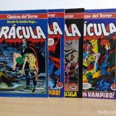 Cómics: LOTE DE 4 EJEMPLARES DE DRACULA DE 1988. Lote 183316607