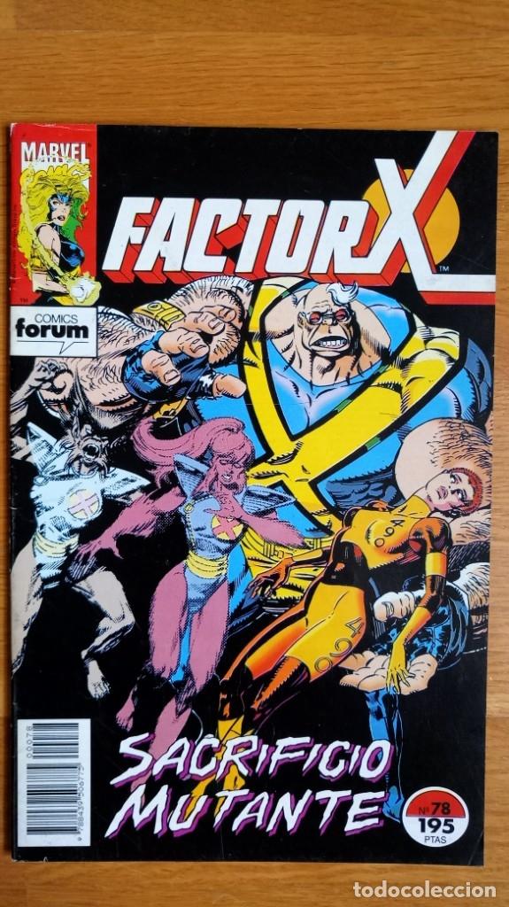 FACTOR X 78 (Tebeos y Comics - Forum - Factor X)