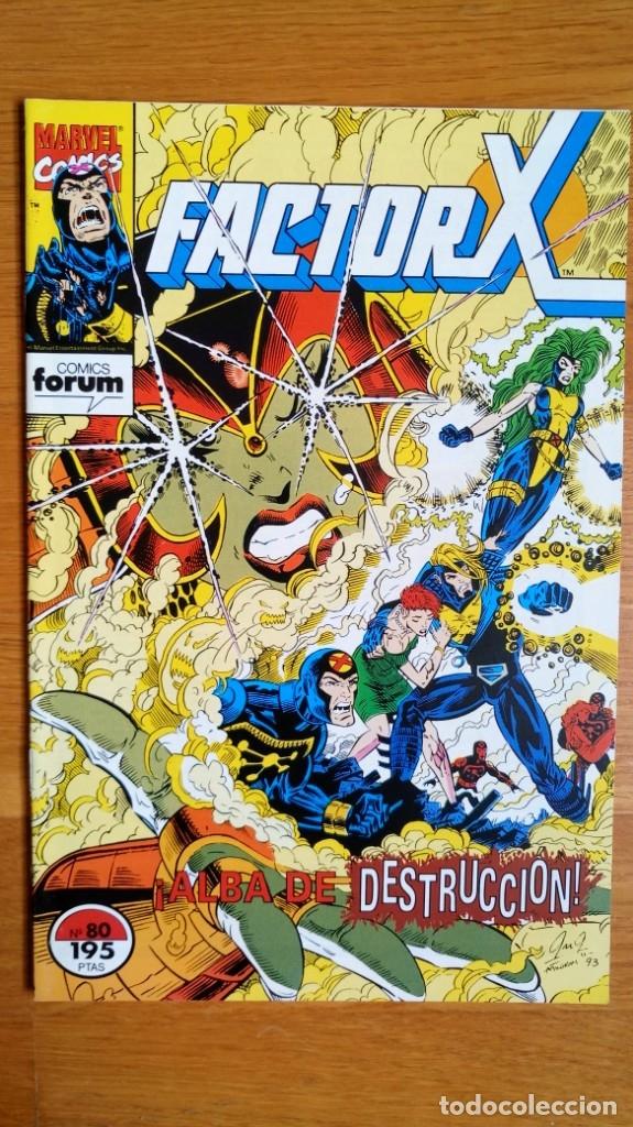 FACTOR X 80 (Tebeos y Comics - Forum - Factor X)