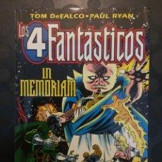 Cómics: LOS 4 FANTÁSTICOS IN MEMORIAM . ( 1996 ) .. Lote 183333765