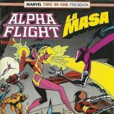 Cómics: ALPHA FLIGHT LA MASA EDITORIAL PLANETA-DEAGOSTINI CÓMICS FORUM Nº 59. Lote 183360028