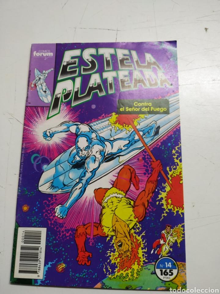 ESTELA PLATEADA LOTE DE 6 Nº 2-3-8-12-13-14- (Tebeos y Comics - Forum - Silver Surfer)
