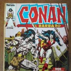Cómics: CONAN EL BARBARO Nº 4 PROCEDE DE RETAPADO - FORUM - SUB02. Lote 183398451