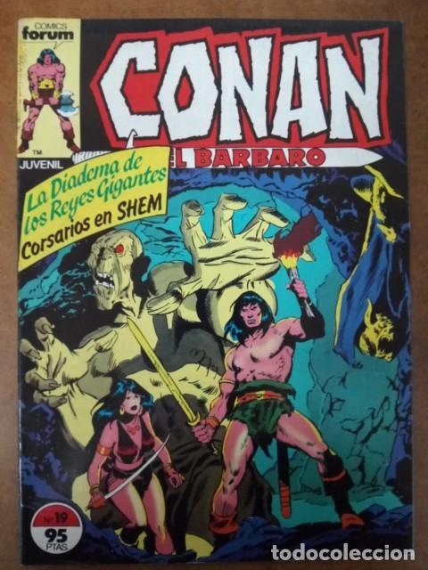 CONAN EL BARBARO Nº 19 PROCEDE DE RETAPADO - FORUM - SUB02 (Tebeos y Comics - Forum - Retapados)
